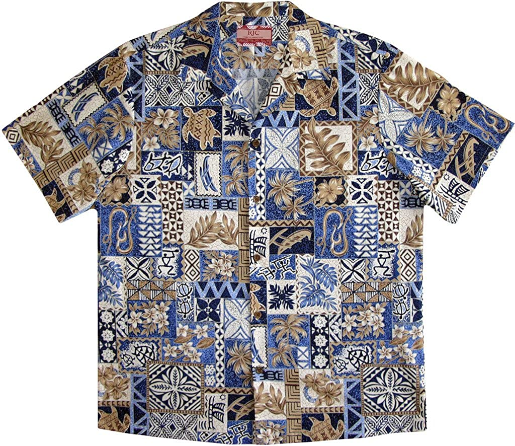 RJC Mens Ancient Warriors Hawaiian Shirt