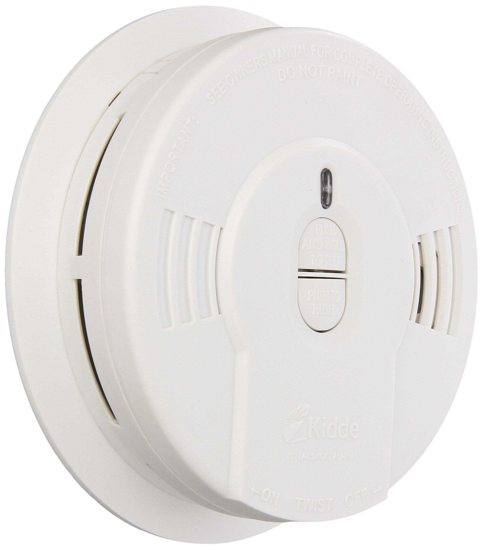 Kidde 408-900-0136-003 i9010 Sealed Battery Smoke Alarm with Smart Hush by Kidde