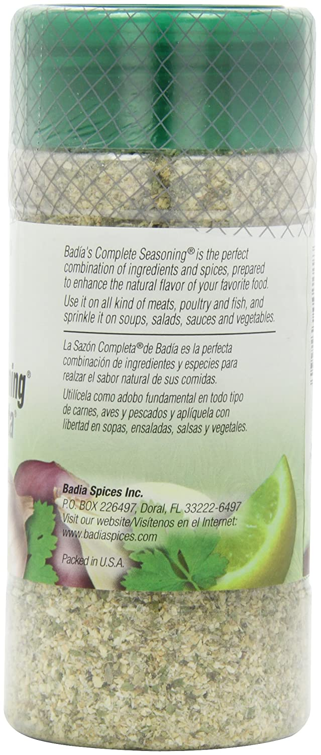 Amazon.com : Badia Seasoning Complete, 12-Ounce (Pack of 6) : Mixed Spices And Seasonings : Grocery & Gourmet Food