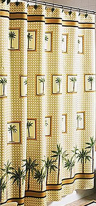 Better Homes And Gardens Palm Decorative Bath Collection   Shower Curtain