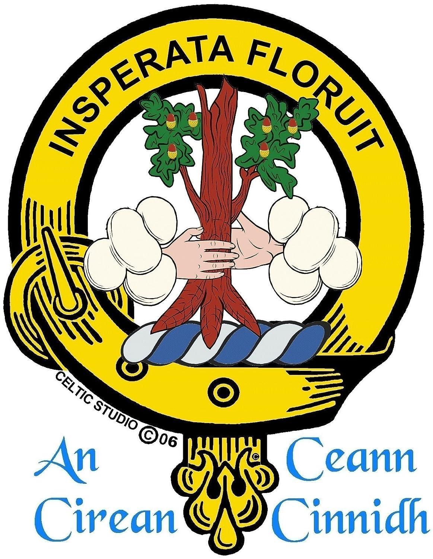 Watson Scottish Clan Crest Kilt Pin