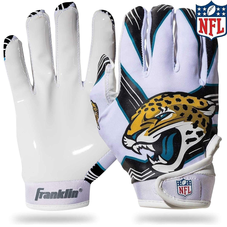 Amazon.com   NFL Jacksonville Jaguars Youth Receiver Gloves 27ca032b06