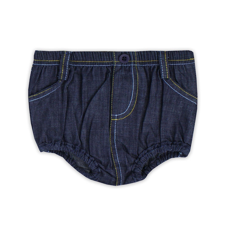 Little Rugged Infant//Toddler Boys Denim 1 Pocket Bloomer Little Rugged Infant//Toddler Boys/' Denim 1 Pocket Bloomer LR-BBDMBXX-1PKT-BABY
