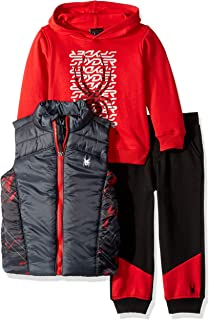 Spyder Boys' 3 Pieces Vest Set