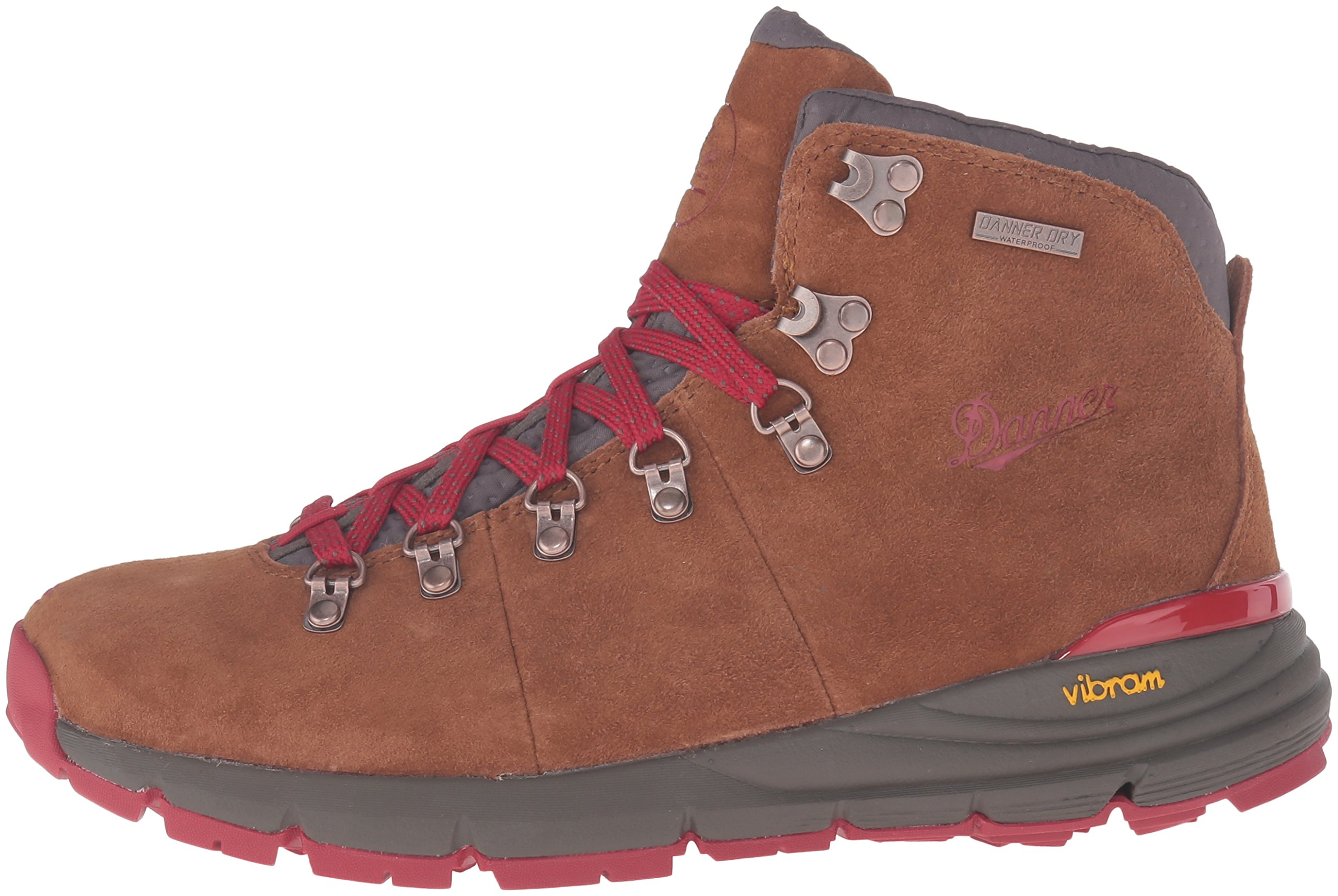Danner Women's Mountain 600 4.5'' Hiking Boot, Brown/Red, 8.5 M US by Danner (Image #5)