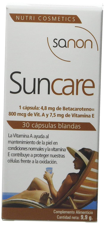 Sanon Sun Care Formación del Bronceado - 2 Paquetes de 30 Cápsulas: Amazon.es: Salud y cuidado personal