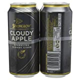 Strongbow Sparkling Cloudy Cider, 4 x 440ml
