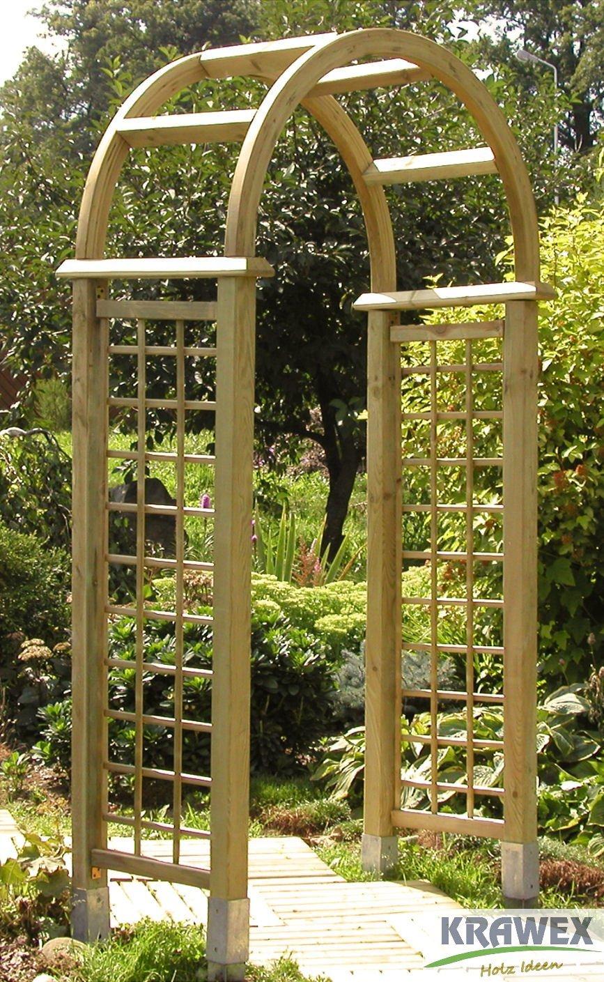 Pergola Arche De Jardin Arche Bois 225 X 120 X 60 Cm Amazon