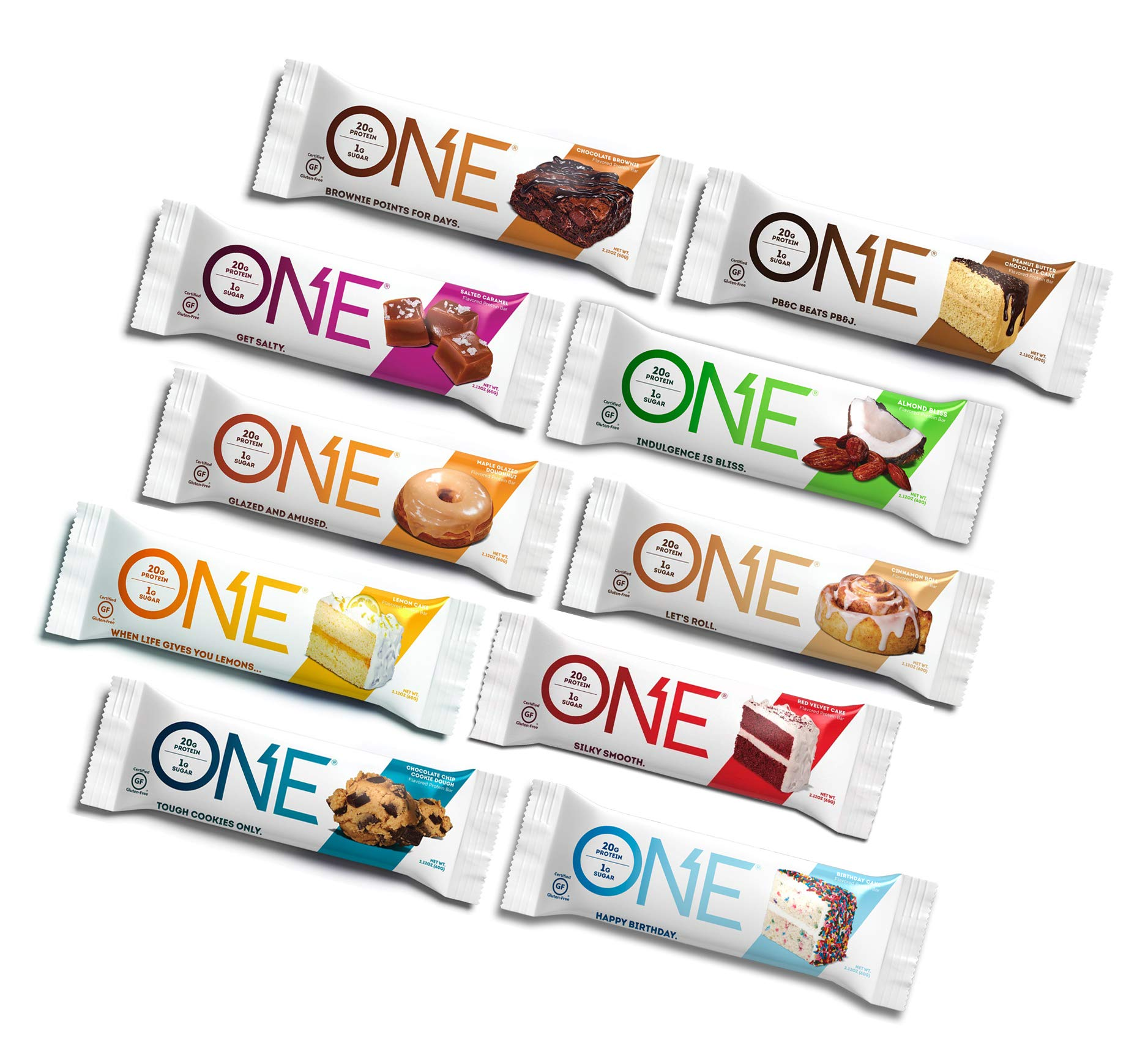 Amazon.com: Oh Yeah! One Protein Bars Chocolate Variety
