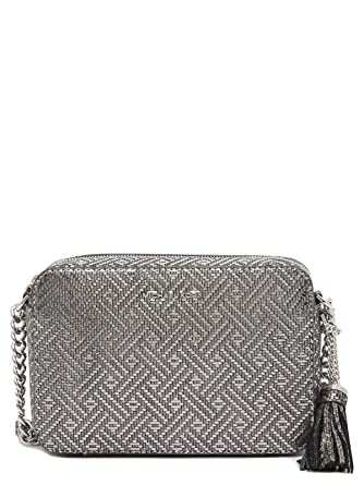 5c45445ca1b2 Amazon.com  Michael Kors Ginny Medium Camera Bag - Metallic  Clothing