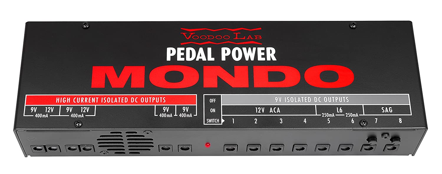 Voodoo Lab Pedal Power ISO-5 Isolated Power Supply ISO5