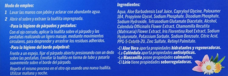 LADIVAL - TOALLITAS OFTAL STADA 30UDS: Amazon.es: Salud y cuidado personal