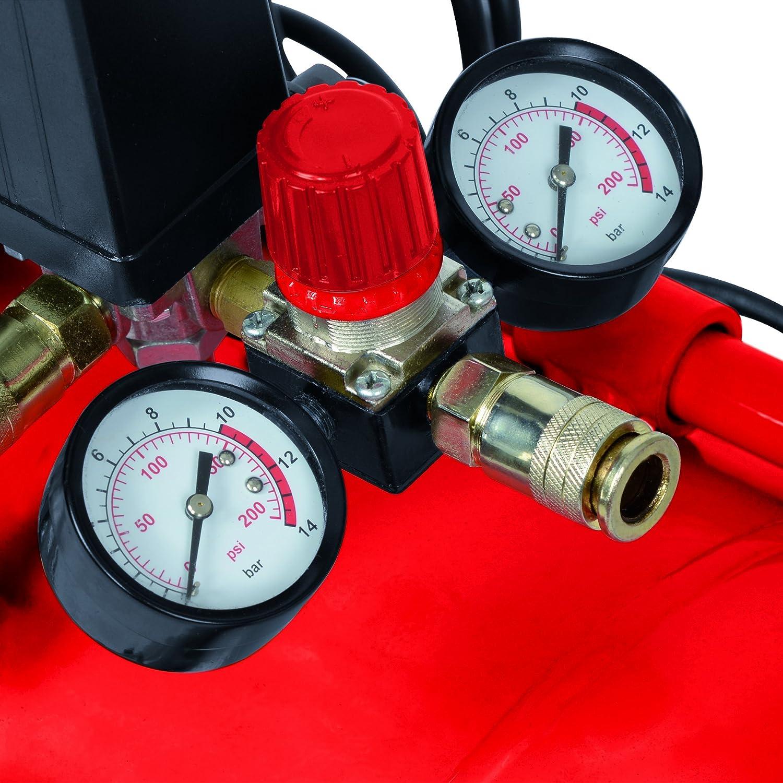 Rosso 24 L Einhell 4010460 Te-AC 230//24 Compressore Lubrificato