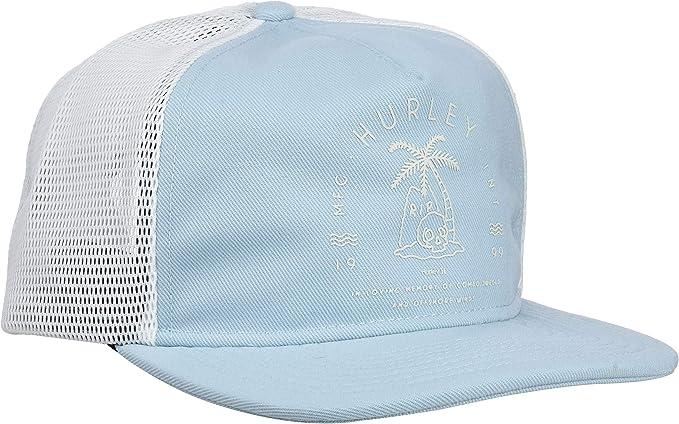 Hurley Rest In Paradise Gorra, Hombre, Azul (Ocean Bliss), Talla ...