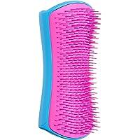 Pet Teezer , De-Shedding & Dog Grooming Brush, Blue And Pink