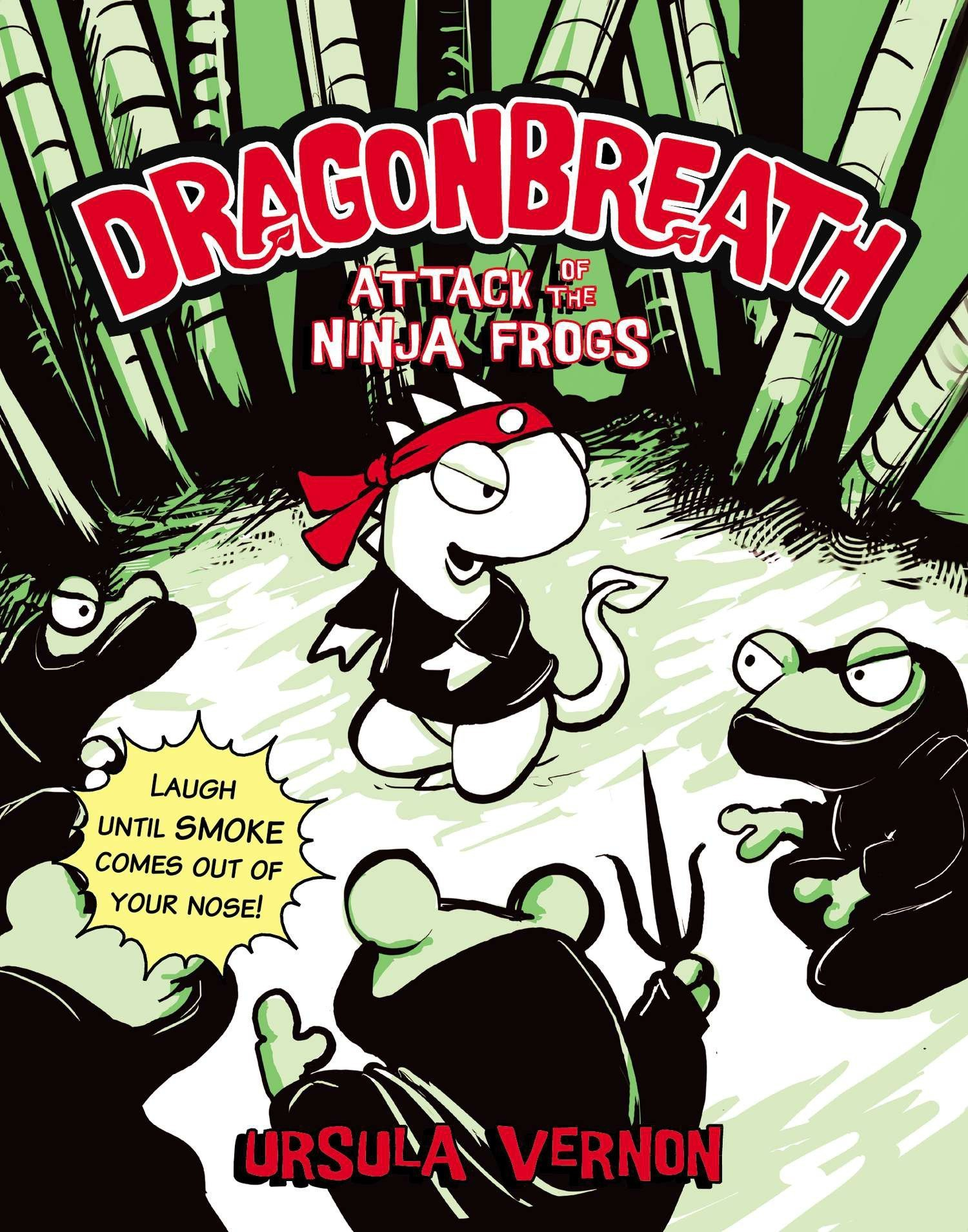 Dragonbreath #2: Attack of the Ninja Frogs: Ursula Vernon ...
