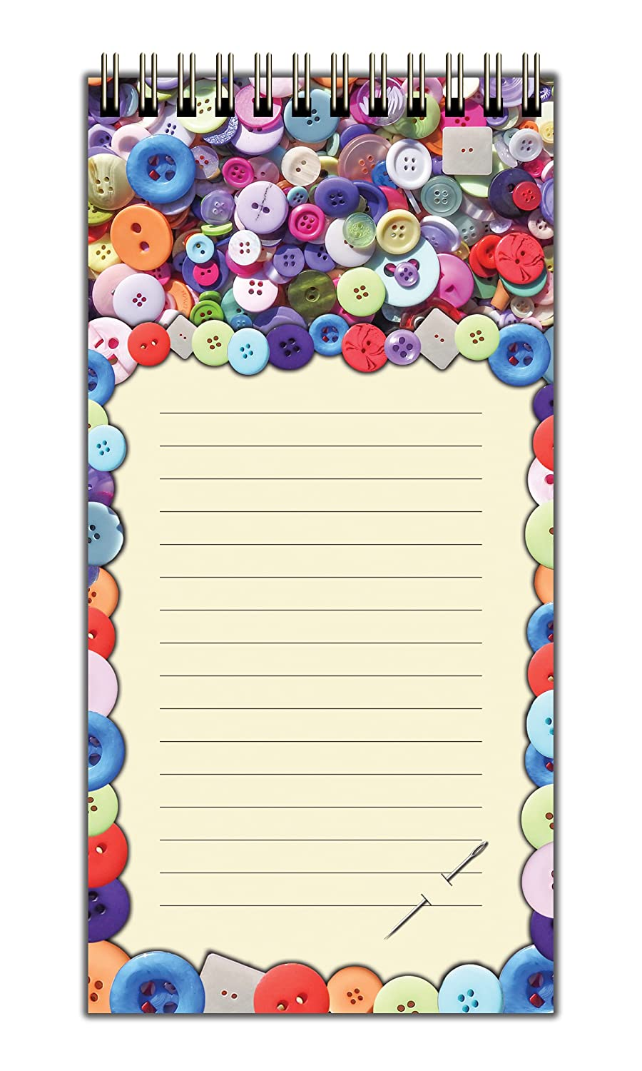 Ivy Mill Designs Magnetic Shopping List - Buttons: Amazon co
