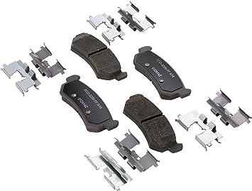 Disc Brake Pad Set-Ceramic Disc Brake Pad Rear ACDelco Advantage 14D1041CH
