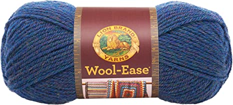 Blue Mist Lion Brand Yarn 620-115 Wool-Ease Yarn Pack of 3 skeins