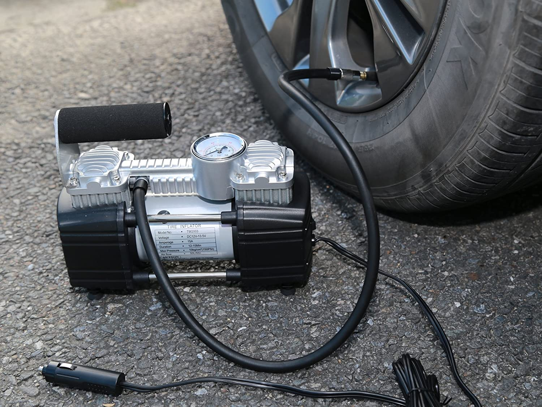 TIREWELL TW2003 Tire Inflator-Heavy Duty Compressor for SUVs/Trucks/Vans/RVs