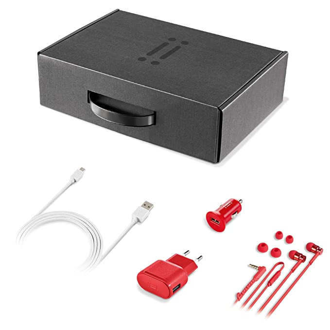 1 opinioni per Aiino- Smart Kit Confezione Regalo- Accessori per iPhone, Smartphone- 4in1-