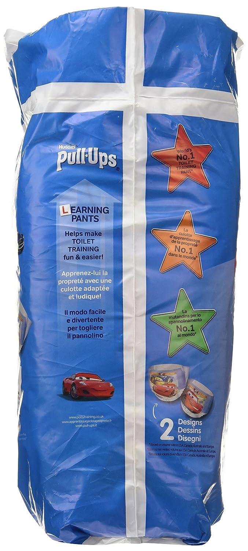 Huggies Pull-Ups Gar/çon Taille 6//Large Couche-culotte dApprentissage de la Propret/é Disney Cars x12 Culottes 16-23 kg
