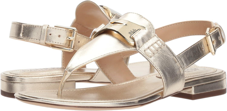 Dayna Flat Sandal, Silver, 5.5 UK