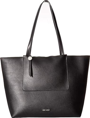6d4fd40e8 Amazon.com: Nine West Women's Nylah Tote Black One Size: Shoes