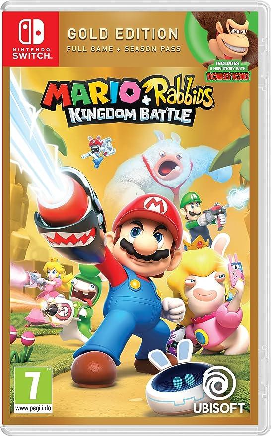 Mario + Rabbids Kingdom Battle Gold Edition [Importación inglesa]: Amazon.es: Videojuegos