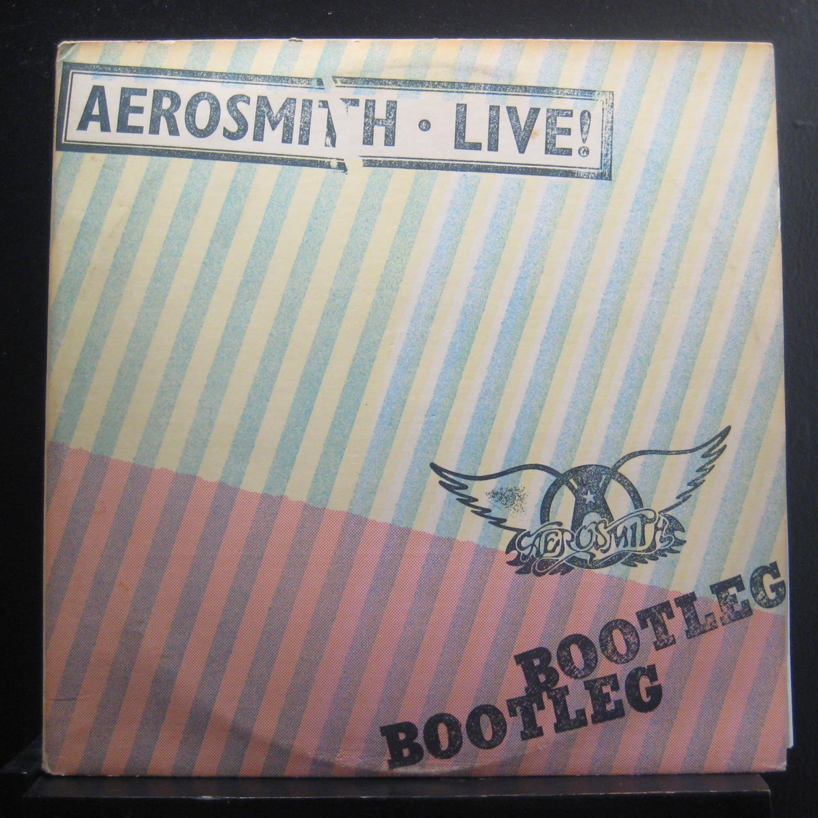Aerosmith Live! Bootleg [1978] 2 LP Gatefold Album by Columbia