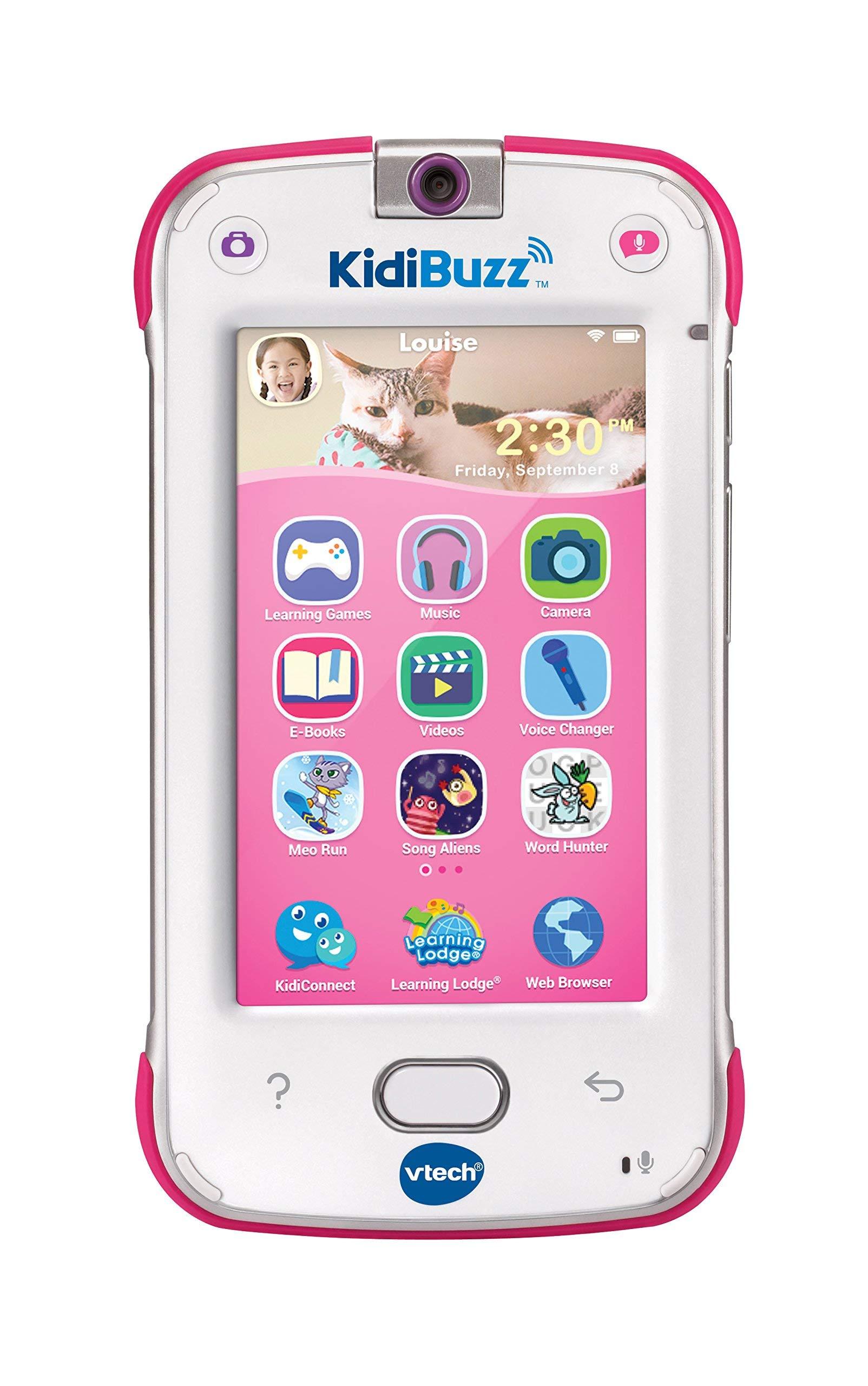 VTech KidiBuzz, Pink (Renewed) by VTech (Image #1)