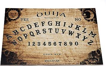 WICCSTAR Ouija Tablero con instruccion y Planchette En España. Ouija Board: Amazon.es: Juguetes y juegos