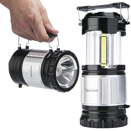 4 opinioni per Readaeer Portabile LED Camping Lanterna Torcia Elettrica (singo)