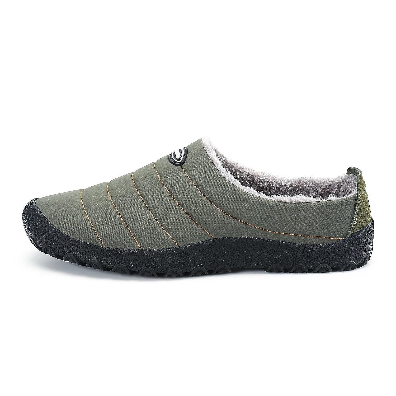 feca27b58 Amazon.com | ASOFTA Womens Mens House Outdoor Indoor Slippers Winter Snow  Warm Slip On Shoes | Slippers