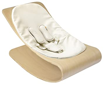 19a60f9119db Amazon.com   Bloom Coco Stylewood Baby Lounger with Seat Pad ...