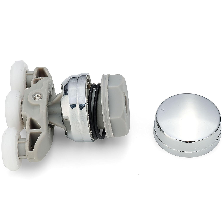 1 X Shower Door Roller Runners 20mm Wheels Diameter Triple Wheels