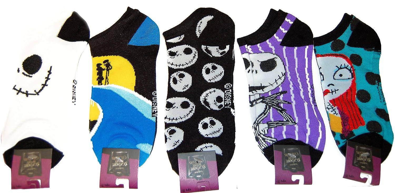 Amazon.com: Nightmare Before Christmas Ankle Socks 5 Pair: Clothing