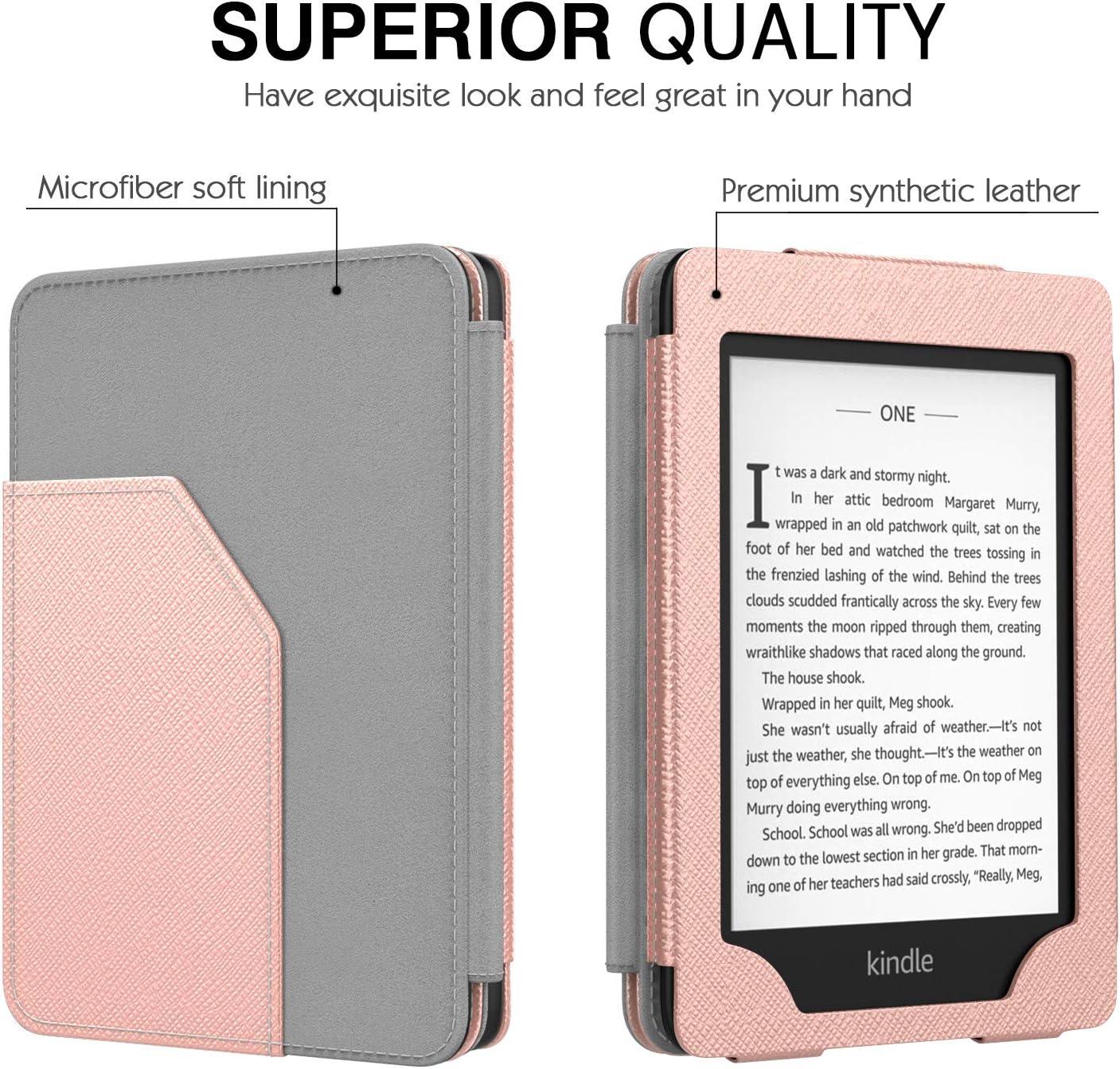 Superior Funda con Auto Sue/ño//Estela para  Kindle Paperwhite E-Reader - Gris 10th Generation, 2018 Release MoKo Funda para Kindle Paperwhite