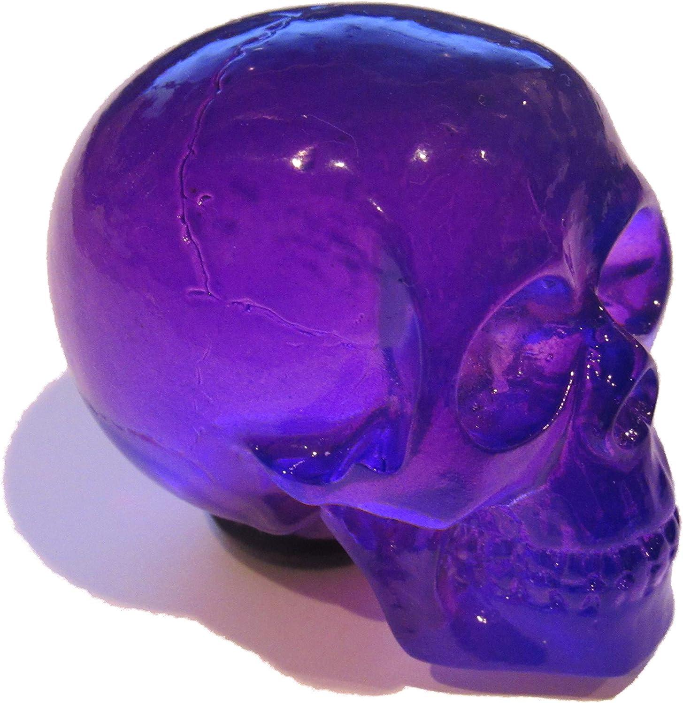 Kool Collectibles Clear Purple Skull Shifter Shift Knob Rat Rod Lever