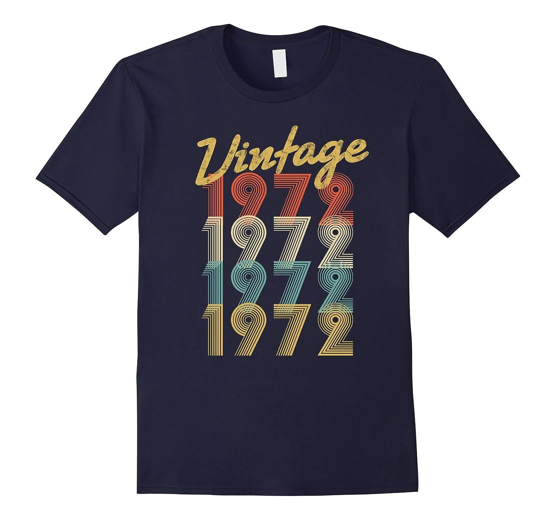 Vintage Retro 1972 T-Shirt 45 yrs old Bday 45th Birthday Tee-T-Shirt