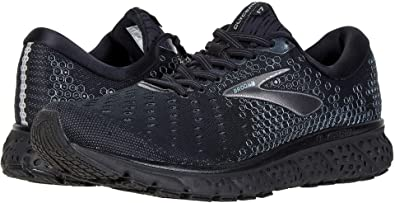 024b75b5cbd Brooks Men s Glycerin 17 Black Ebony 7 D US