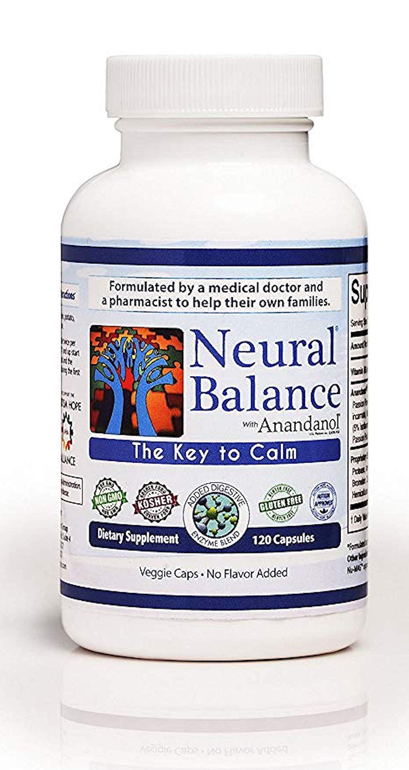 Neural Balance with Anandanol (120 Capsules)