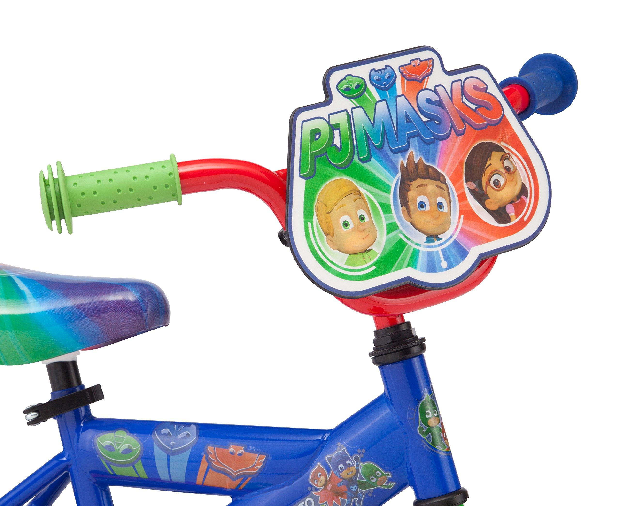 "PJ Masks Boy's 12"" Bicycle, Blue by PJMASKS (Image #2)"