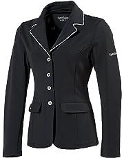 Equi-Theme–Chaqueta de competición de equitación para Mujer Soft Light–2Colores: Negro o Marino