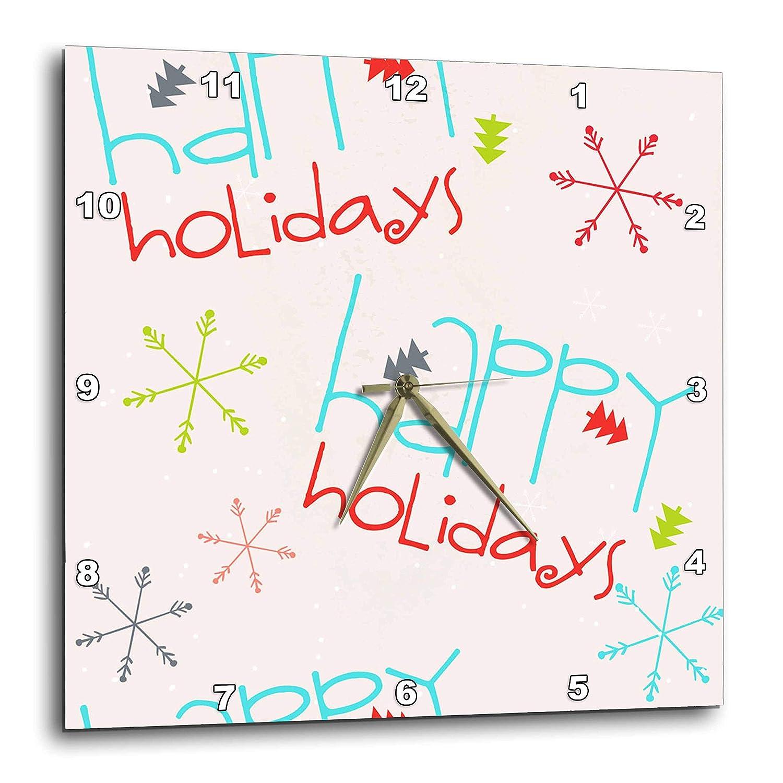 85b454de0f9a Amazon.com: 3dRose Anne Marie Baugh - Christmas - Cute Red, Aqua ...