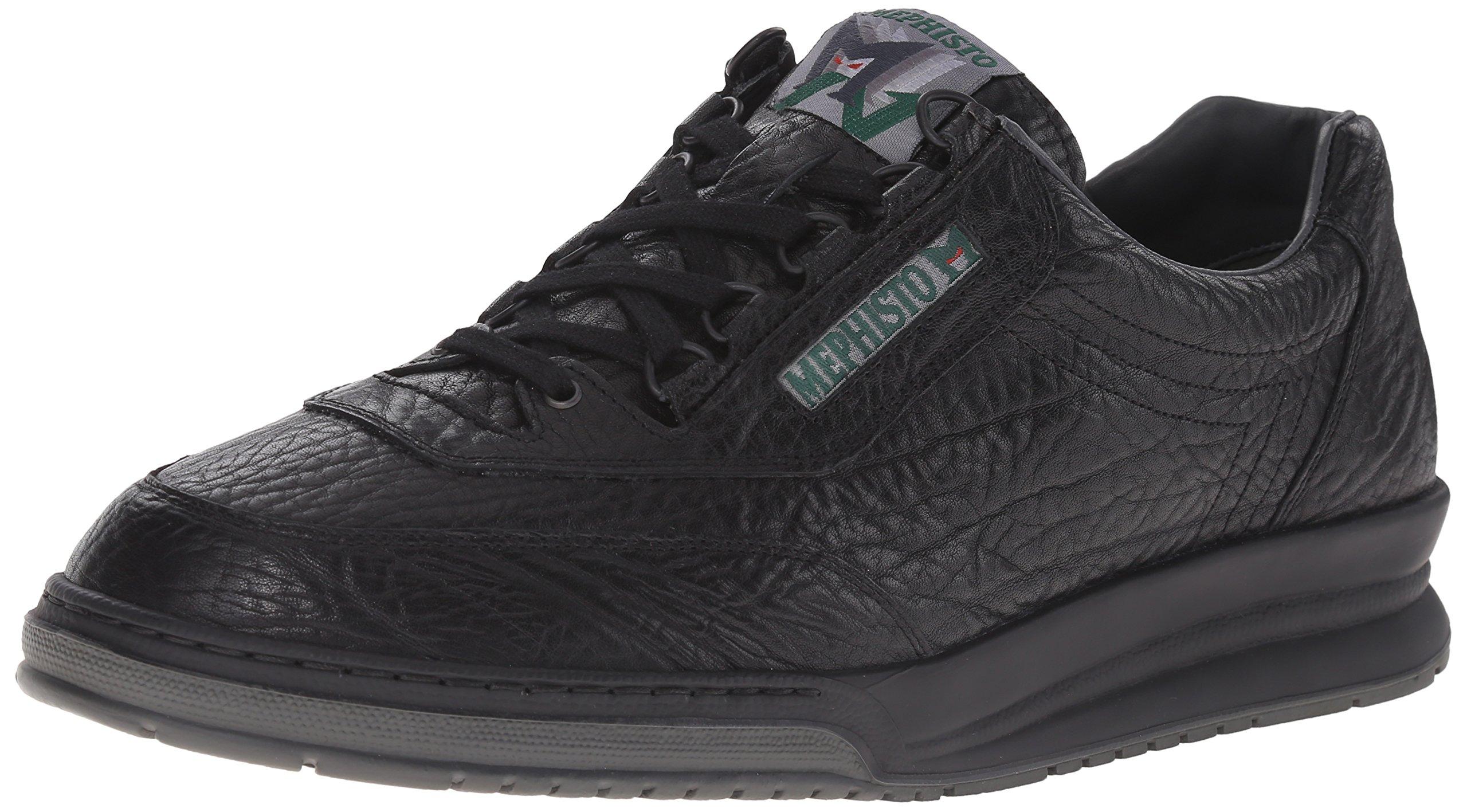 Mephisto Men's Match Walking Shoe,Black,8 M US