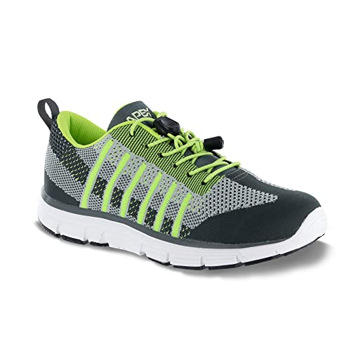 e8453d79bf4706 Apex Shoes A7100M Bolt Athletic Knit Sneaker Running, Navy/Blk, 13 ...