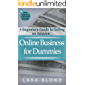 Online Business for Dummies: A Beginners Guide to Selling on Amazon