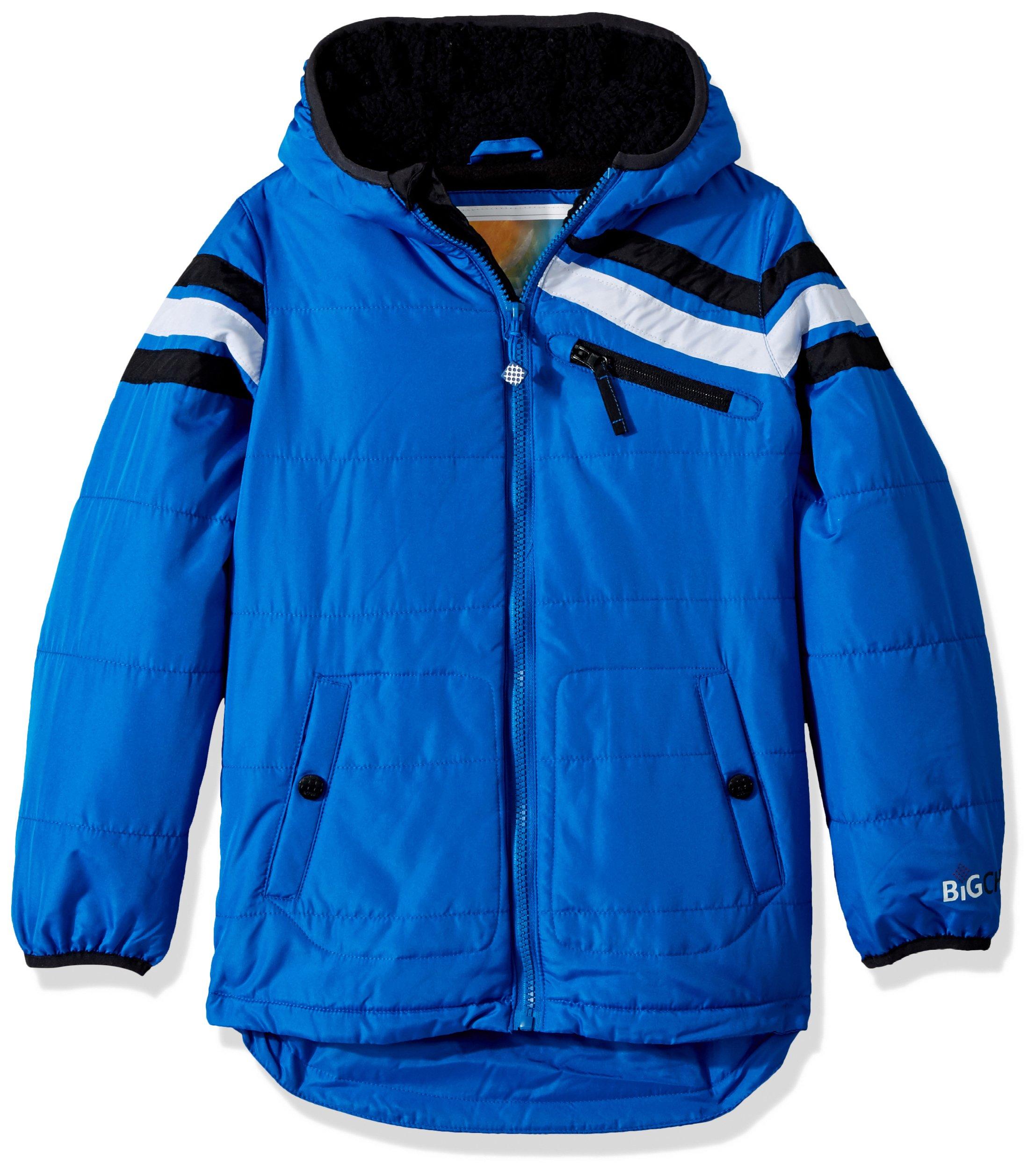Big Chill Little Boys' Big Midweight Jacket, Blue, 5