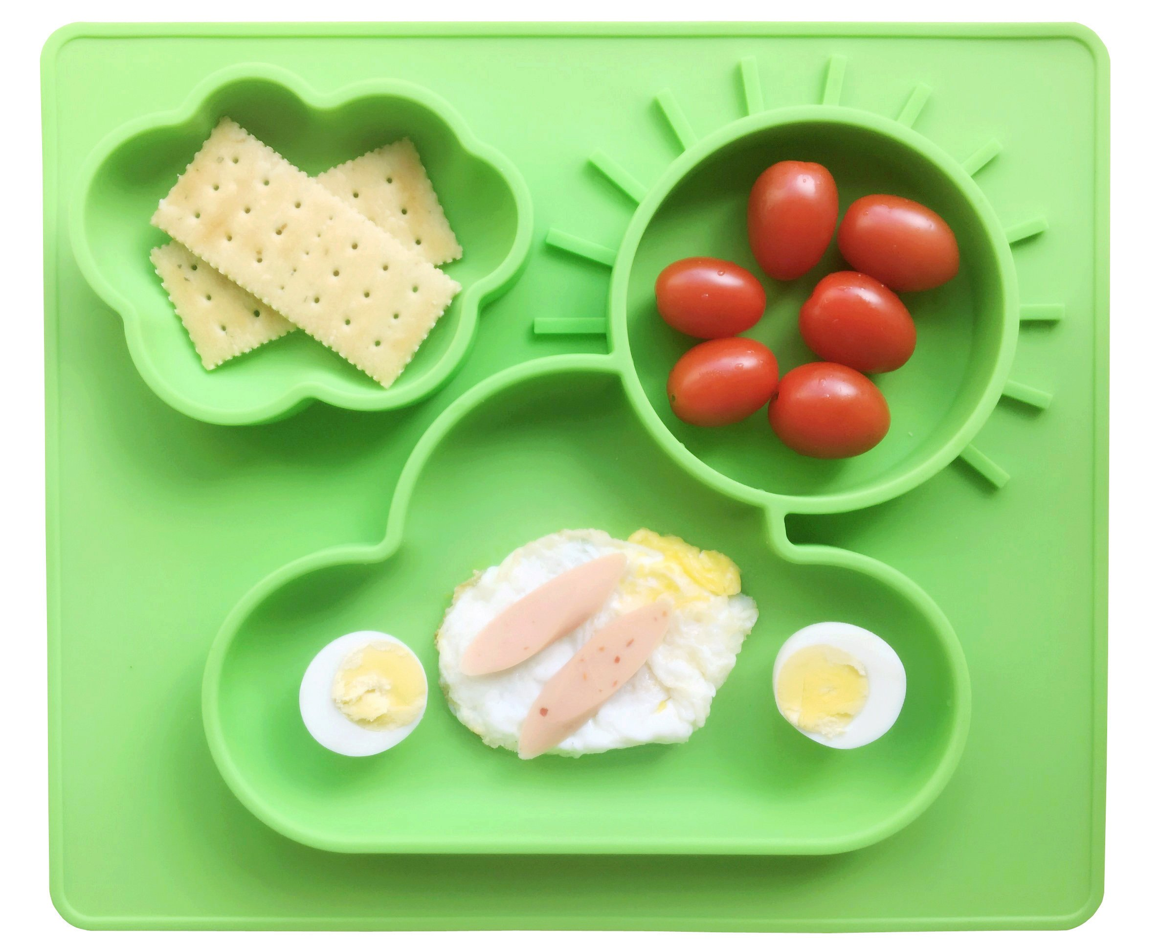Amazon Com Baby Placemat And Bib Food Grade Silicone